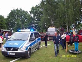 Kindertags Party in der Miniaturstadt Bützow