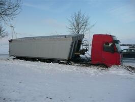 Unfall im Winter